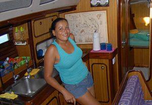 Luisana - hôtesse